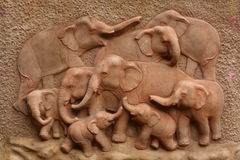 Elefantarchitektur Lizenzfreies Stockfoto