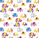 Elefantbakgrund Arkivbild