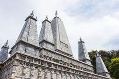 Elefantbilds buddha pagod, Thailand Fotografering för Bildbyråer