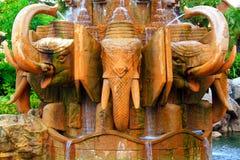 Elefantbrunnen Stockbild