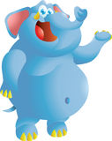 Elefantdarstellen Lizenzfreies Stockbild