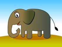 Elefante 01 Ilustración del Vector