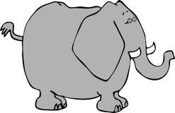 Elefante 1 Foto de archivo libre de regalías