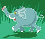 Elefante illustrazione di stock
