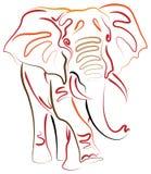 Elefante ilustração do vetor