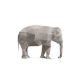Elefante abstrato Imagem de Stock Royalty Free