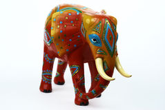Elefante adornado Foto de archivo libre de regalías