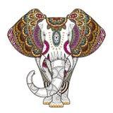 Elefante agraciado ilustración del vector