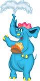 Elefante alegre Imagens de Stock Royalty Free