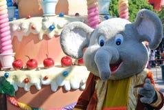 Elefante alegre Imagen de archivo libre de regalías