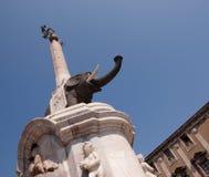 Elefante a Catania imagem de stock royalty free