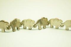 Elefante a catena Fotografia Stock Libera da Diritti