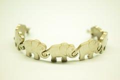 Elefante a catena 2 Fotografia Stock Libera da Diritti