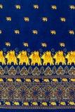 Elefante com teste padrão decorativo Fotografia de Stock Royalty Free