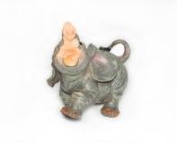 Elefante da argila Imagens de Stock Royalty Free
