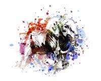 Elefante da ilustração de cor do vetor Imagem de Stock Royalty Free