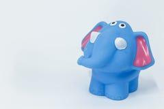 Elefante de goma Foto de archivo libre de regalías