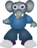 Elefante de la historieta libre illustration