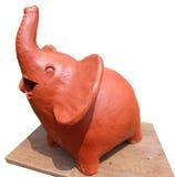 Elefante de la sonrisa Foto de archivo libre de regalías