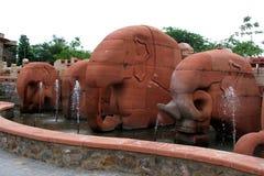 Elefante de pedra Imagem de Stock
