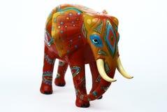 Elefante decorato Fotografia Stock Libera da Diritti