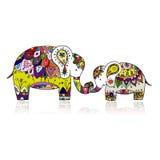 Elefante decorato, schizzo per la vostra progettazione Fotografie Stock