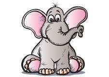 Elefante del bambino Fotografie Stock Libere da Diritti