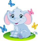 Elefante del bebé ilustración del vector