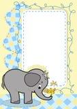 Elefante del bebé. Imagen de archivo