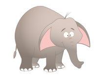 Elefante del fumetto illustrazione di stock