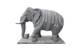 Elefante del guarda Fotografía de archivo libre de regalías