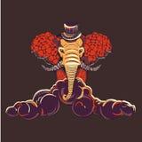 Elefante del lavoro illustrazione vettoriale