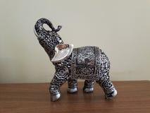 Elefante del metal Fotografía de archivo