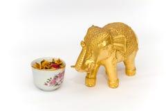 Elefante del recuerdo de Tailandia Fotos de archivo libres de regalías
