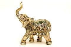 Elefante della figurina Fotografie Stock Libere da Diritti