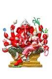 Elefante - deus dirigido no templo Imagem de Stock