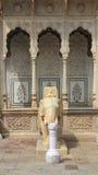 Elefante di marmo a Jaipur. Fotografia Stock
