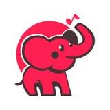 Elefante divertente Fotografie Stock Libere da Diritti