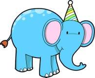 Elefante do aniversário Imagens de Stock
