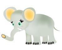 Elefante do bebê do desenho Fotos de Stock