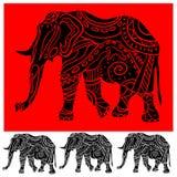 Elefante do ornamento Fotografia de Stock