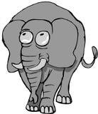 Elefante emocional ilustração royalty free