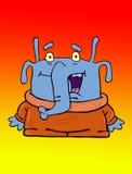 Elefante-extranjero Imagen de archivo libre de regalías