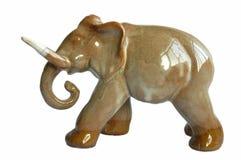 Elefante feito da argila Fotografia de Stock