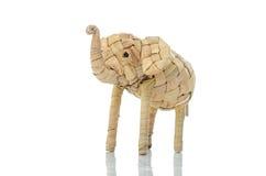 Elefante feito a mão Fotografia de Stock Royalty Free
