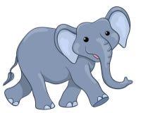 Elefante felice illustrazione di stock
