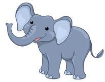 Elefante feliz Foto de Stock Royalty Free