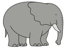 Elefante grande ilustración del vector