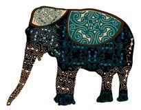 Elefante indiano Fotografia Stock Libera da Diritti
