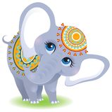 Elefante indiano royalty illustrazione gratis
